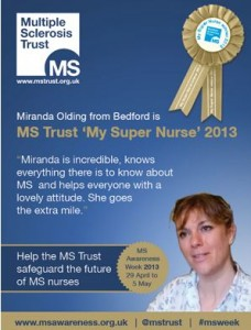 MS Super Nurse award 2013