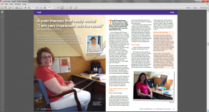 APS Therapy article New Pathways magazine