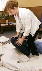 repetitive strain injury from shiatsu better with APS therapy